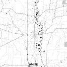 Amite Map Grau von HubertRoguski