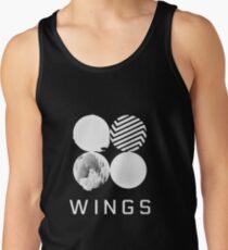 BTS Wings Logo (Schwarz) Tanktop für Männer
