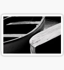 Wooden boats Sticker