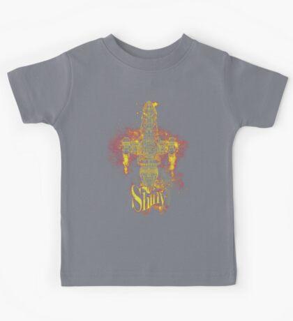 shiny spaceship Kids Clothes