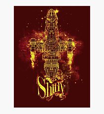 shiny spaceship Photographic Print