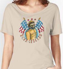 Teddy Roosevelt Tattoo Flash Women's Relaxed Fit T-Shirt