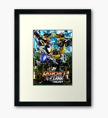 Ratchet & Clank Trilogy  Framed Print