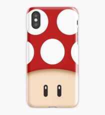 Red Super Mushroom iPhone Case