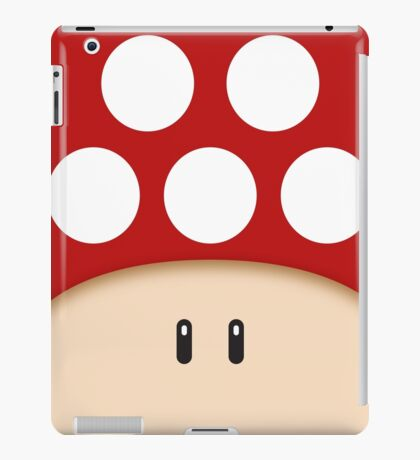 Red Super Mushroom iPad Case/Skin