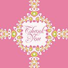 Sweet Thanks | Thank You Card by webgrrl