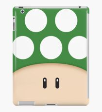 Green 1UP Mushroom iPad Case/Skin