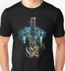 shiny space ship Unisex T-Shirt