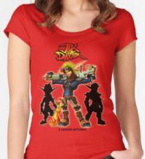 Jak & Daxter Trilogy  Women's Fitted Scoop T-Shirt