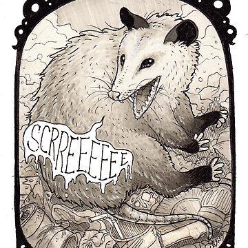 Opossum by NomadicPlanet