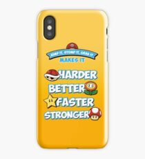 Daft Plumber iPhone Case