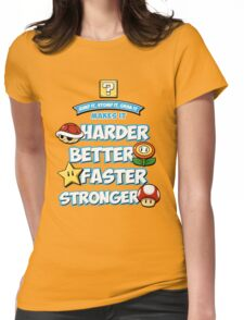 Daft Plumber Womens Fitted T-Shirt