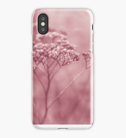 Nature in pink iPhone Case