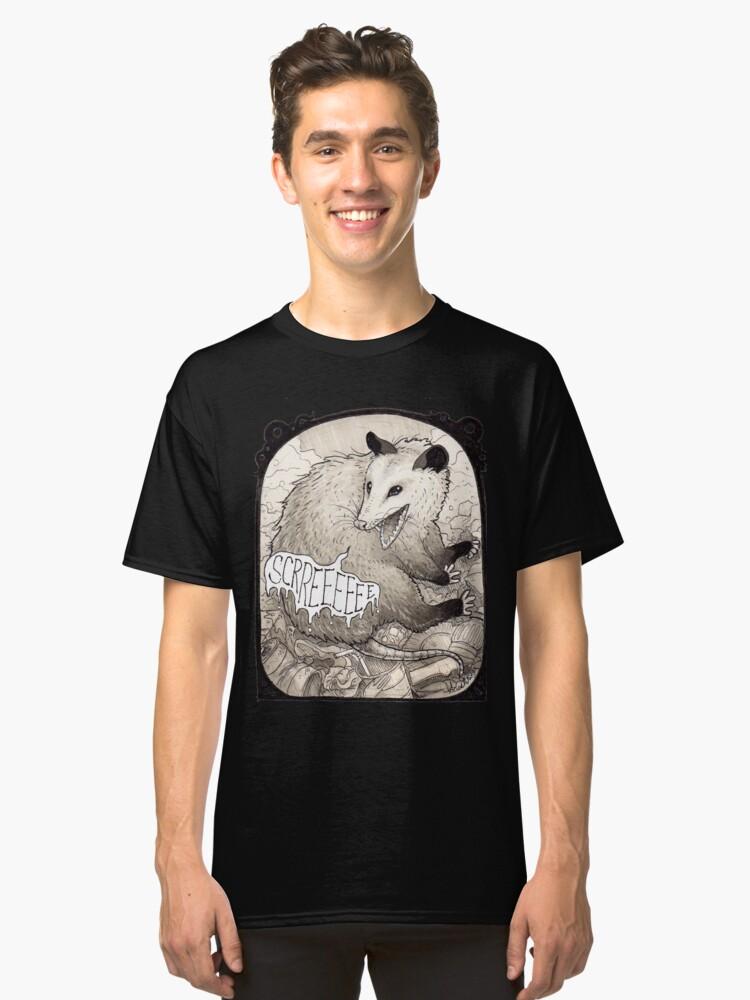 Opossum Classic T-Shirt Front