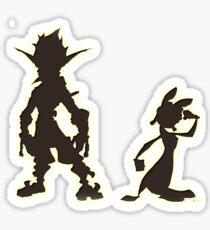 Jak and Daxter: The Precursor Legacy Silhouette Sticker