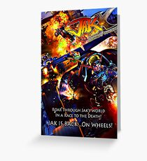 Jak X Combat Racing Greeting Card