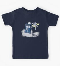 Derpy Tardis Delivery Kids Clothes