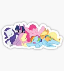 Sleepy Ponies Sticker