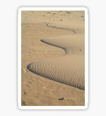 Miniature Dune Landscape Sticker