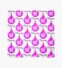 Personalised Bauble Mummy Scarf