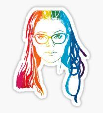 cosima niehaus pride Sticker