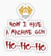 A Nakatomi Party Sticker