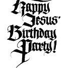 Happy Jesus Geburtstagsfeier von Ian K.