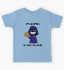 Evil Beware: We Have Waffles Kids Clothes