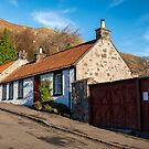 Cottages in Central Scotland by Jeremy Lavender Photography