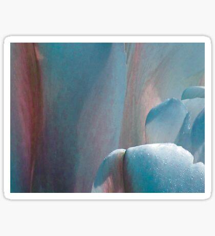 Tulip - blue Sticker
