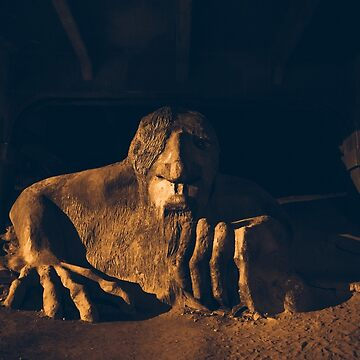 Fremont Troll at night by markbot