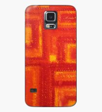 Navajo Rug original painting Case/Skin for Samsung Galaxy
