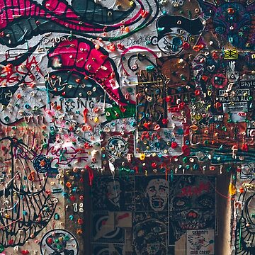 Gum Wall, Seattle, WA by markbot