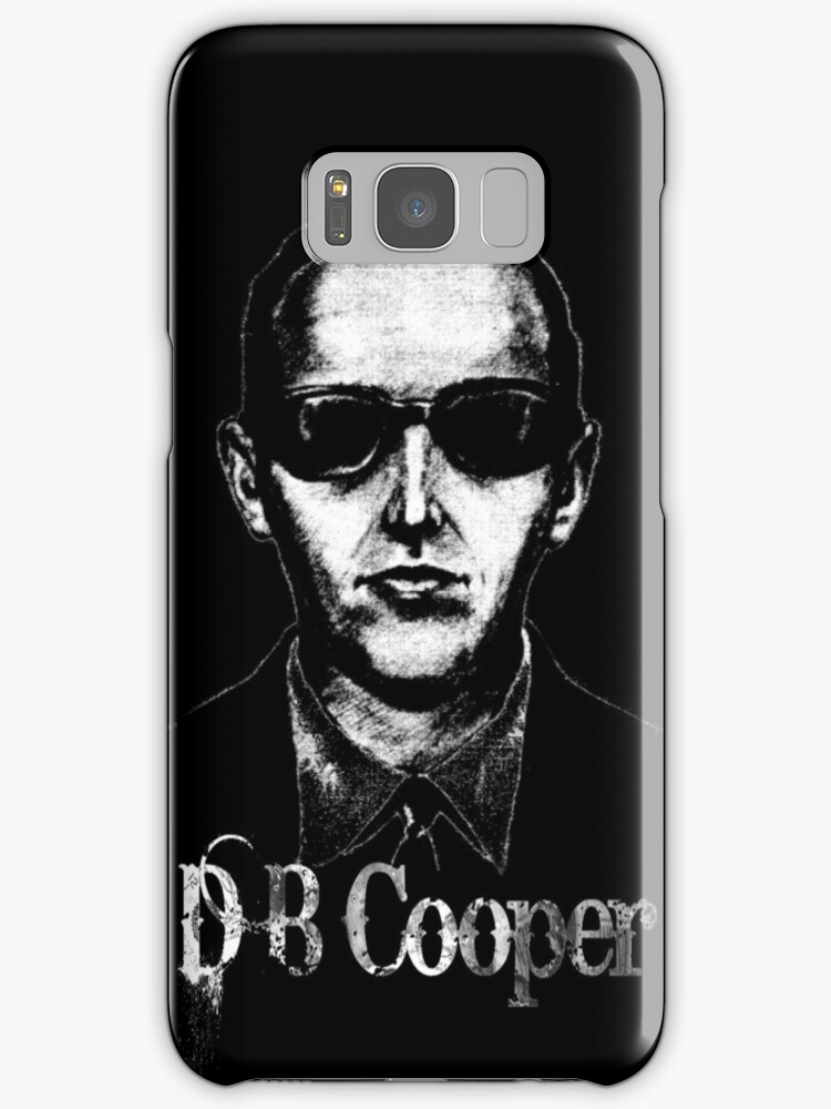 D B Cooper by blackiguana
