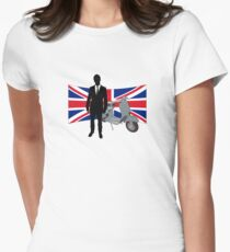 Scooter Mods T Shirt Womens Fitted T-Shirt
