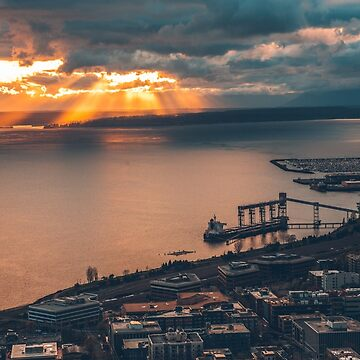 View of Seattle from the Space Needle by markbot