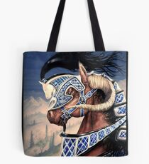 Yuellas the Bulvaen Horse Tote Bag