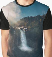 Snoqualmie Falls, WA Graphic T-Shirt