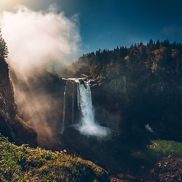 Snoqualmie Falls, WA by markbot