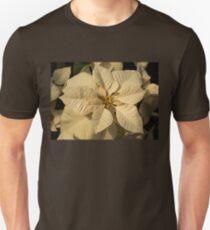 Elegant Ivory Poinsettia - An Exotic Christmas Greeting T-Shirt