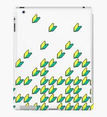 Wakaba pattern (1) iPad Case/Skin