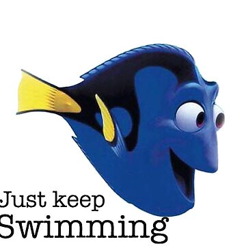 just keep swimming- Nemo by SippyCupPhil