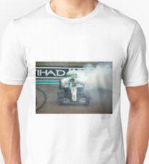 Nico Rosberg Mercedes formula 1 Champion 2016 Unisex T-Shirt