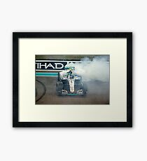 Nico Rosberg Mercedes formula 1 Champion 2016 Framed Print