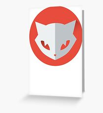 Cat Space Funny Greeting Card