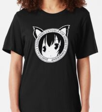 Genetically Engineered Catgirls for Domestic Ownership! (Black) Slim Fit T-Shirt