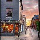 Summertime Sunset on Pottergate by Ruski