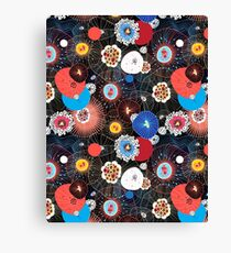 Abstract fantasy pattern Canvas Print