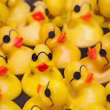 Quackers for Rubber Duckies by LESLIEDYESIGN