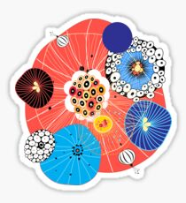Abstract fantasy pattern Sticker